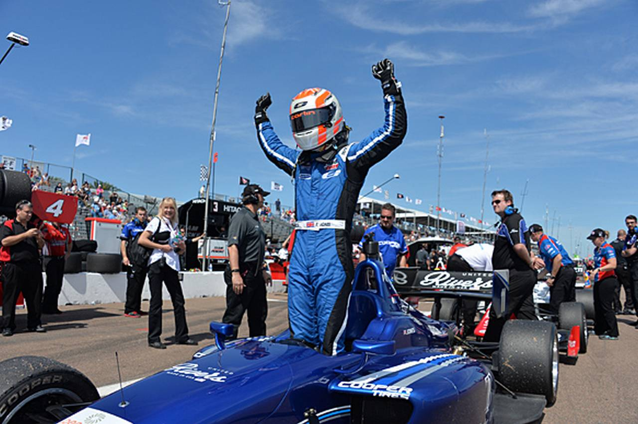 Ed Jones Indy Lights St Petes-56