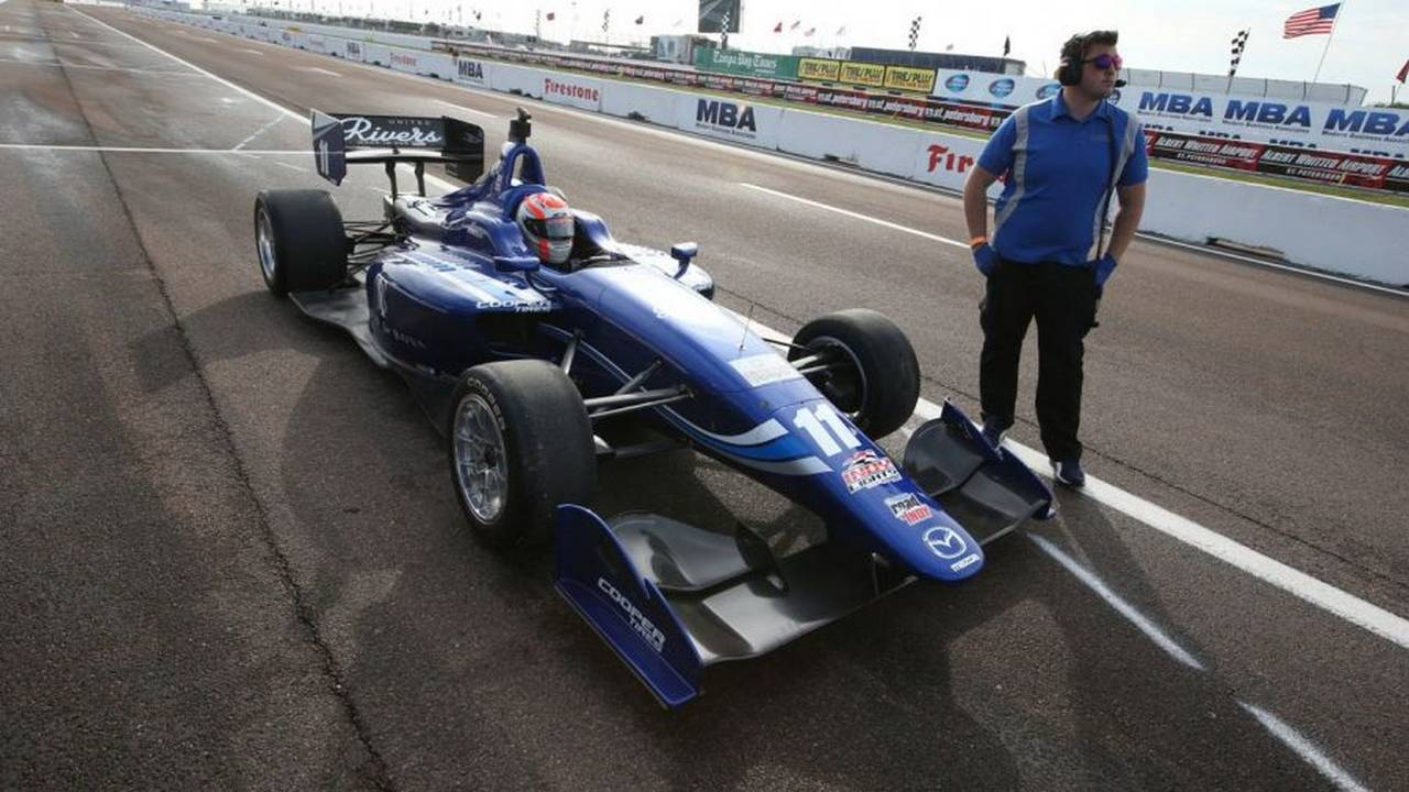 Ed Jones Indy Lights St Petes-58