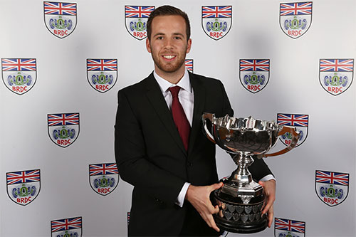 Jones rewarded for title-winning campaign with BRDC Earl Howe Trophy