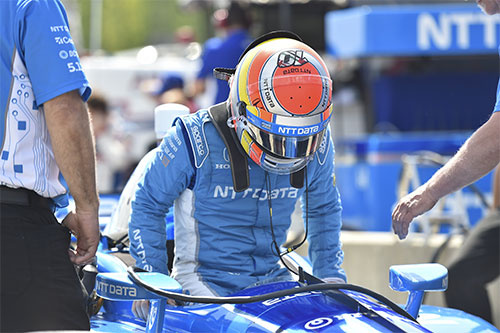 Jones turns attentions to IndyCar's 'Month of May' following Barber frustration