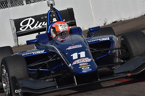 Jones vows to fight back after luckless Indy Lights opener
