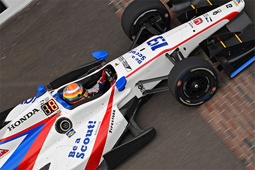Jones' impressive raw pace goes unrewarded in IndyCar GP