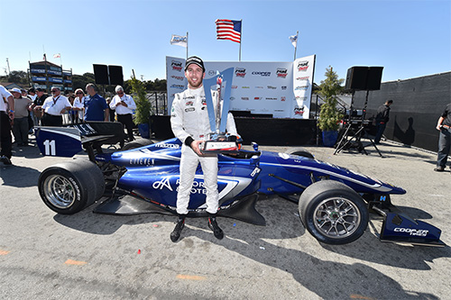 Jones clinches Indy Lights crown and IndyCar shot in nail-biting finale