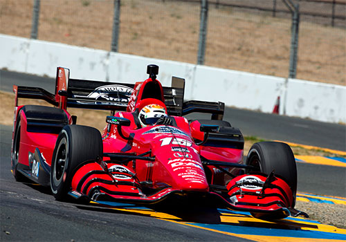 'True professional' Jones turns heads on 'amazing' IndyCar test debut