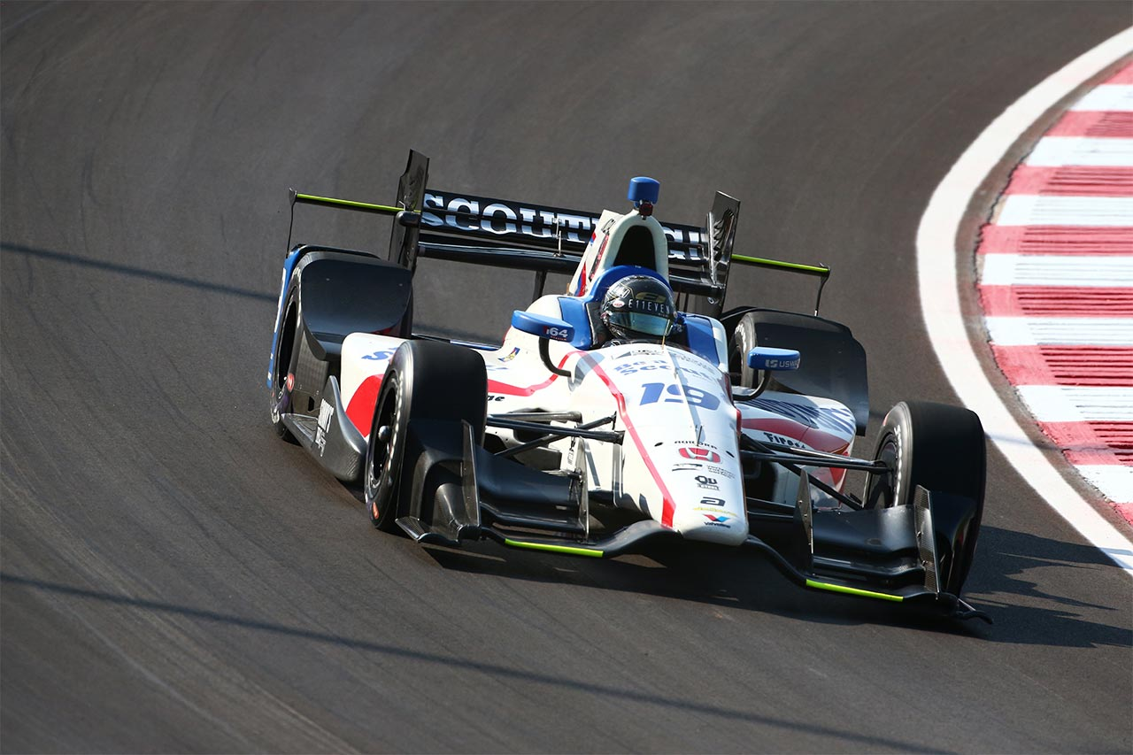 Ed Jones Verizon IndyCar Gateway Motorsports 3