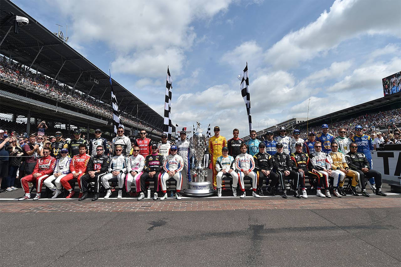 Ed Jones Indy 500 Drivers Presentation