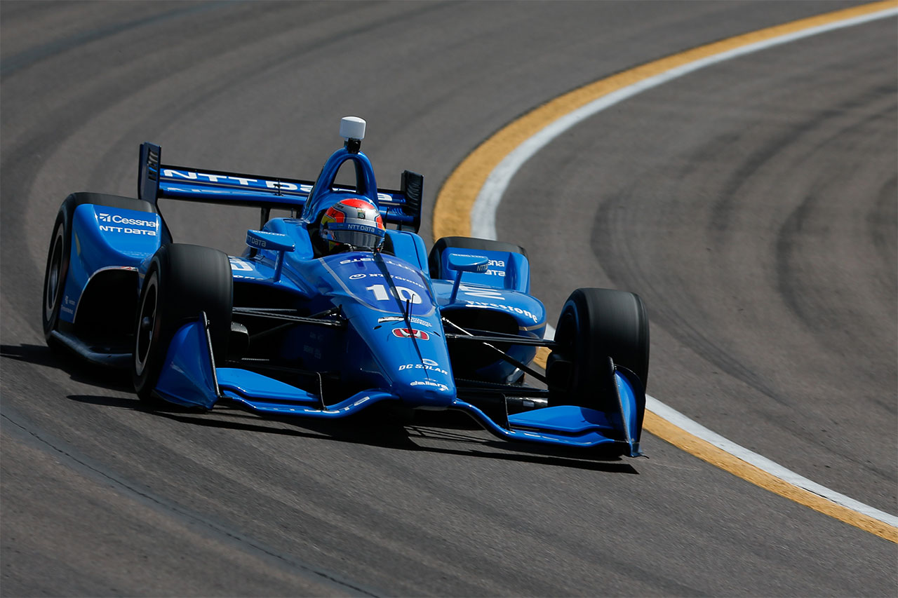 Ed Jones Chip Ganassi Racing Indycar Phoenix Grand Prix 2018 1
