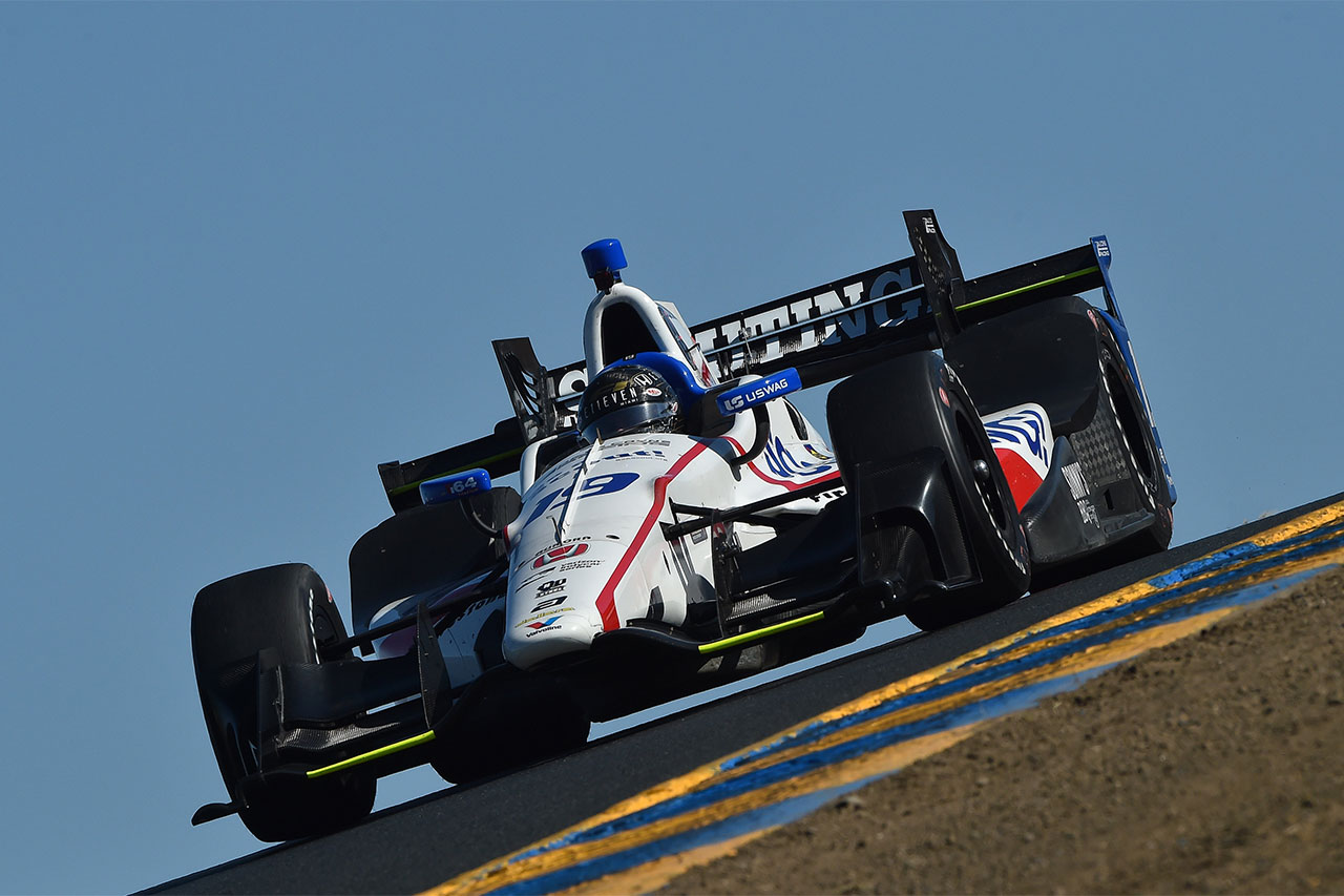 Sonoma Ed Jones Indy Car 11