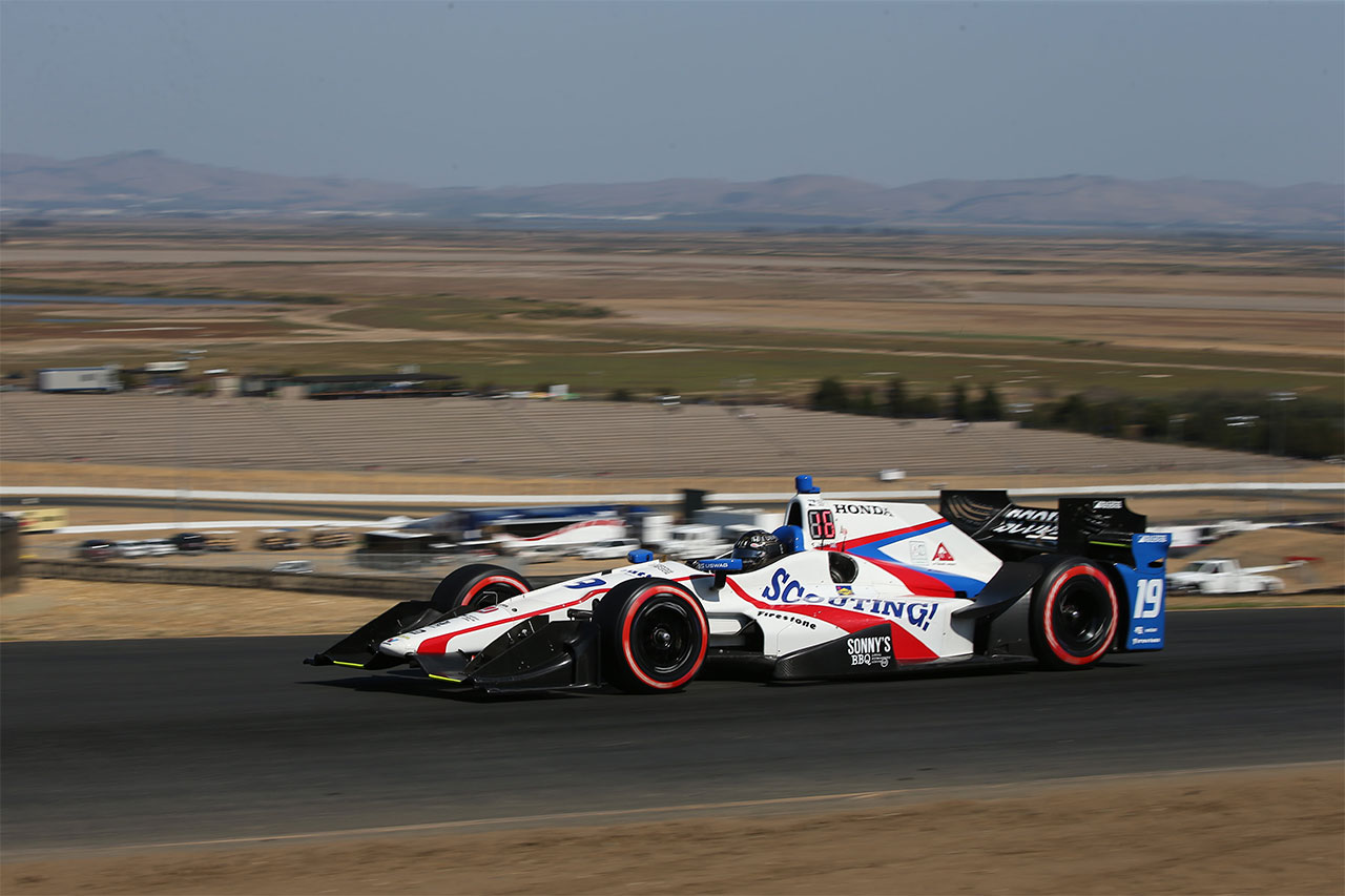 Sonoma Ed Jones Indy Car 2