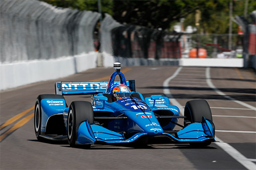 Jones fights through field for 'smart' top eight finish in IndyCar curtain-raiser
