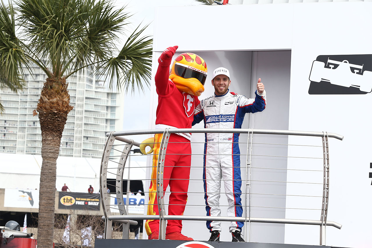 Ed Jones IndyCar Firestone Grand Prix Of St. Petersburg 3